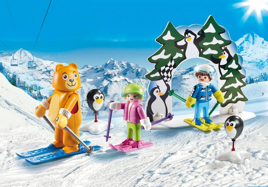 ski lesson - Playmobil Ski