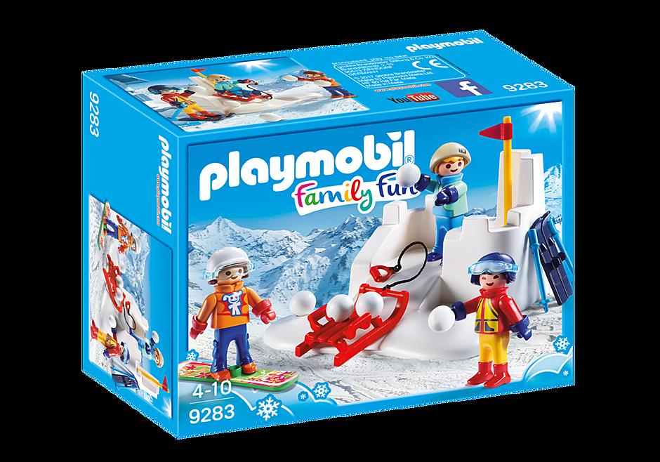 9283 Enfants avec boules de neige  detail image 3