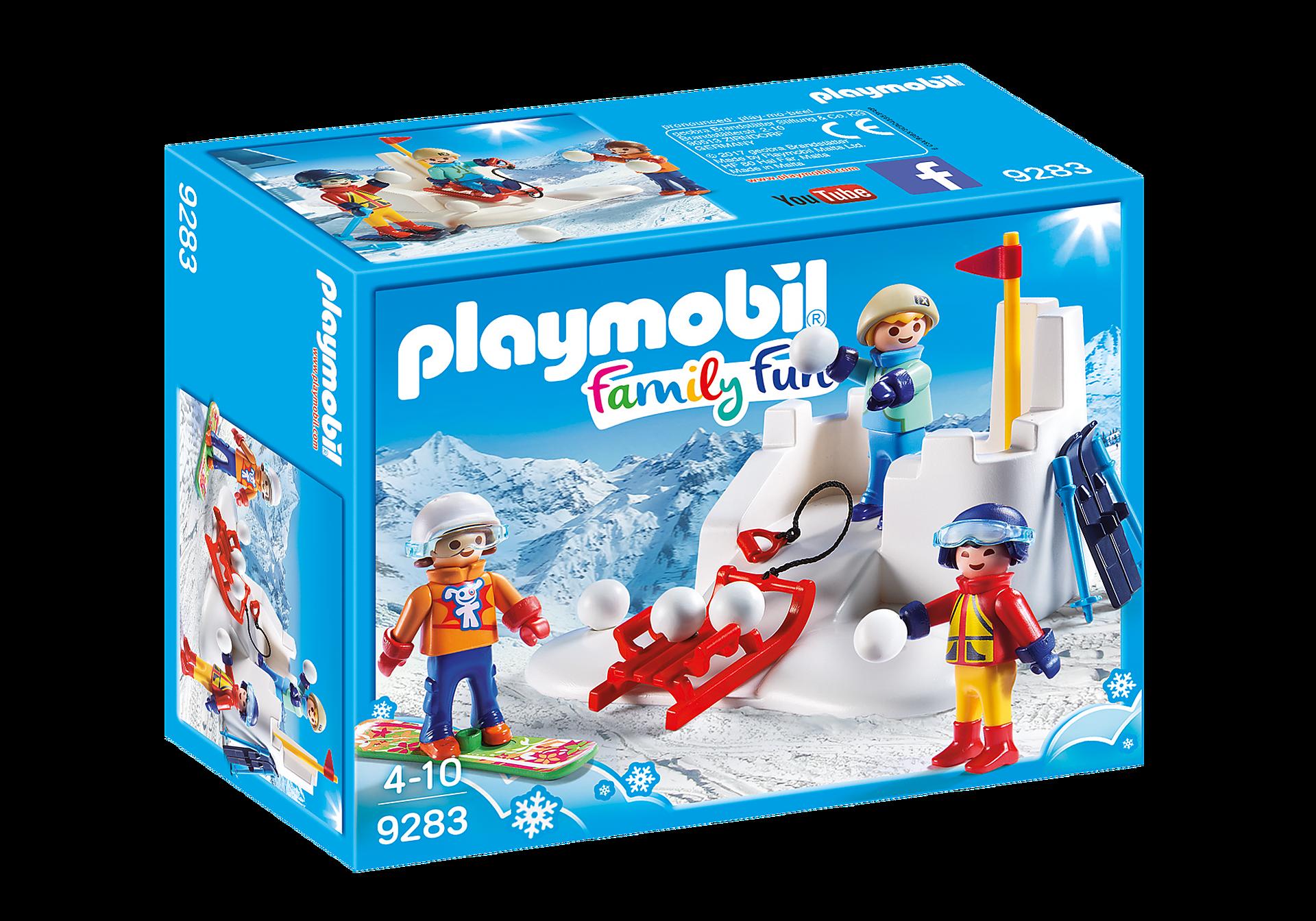 9283 Enfants avec boules de neige  zoom image3