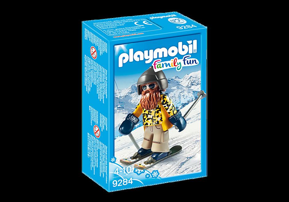 9284 Skieur avec Snowblades detail image 3