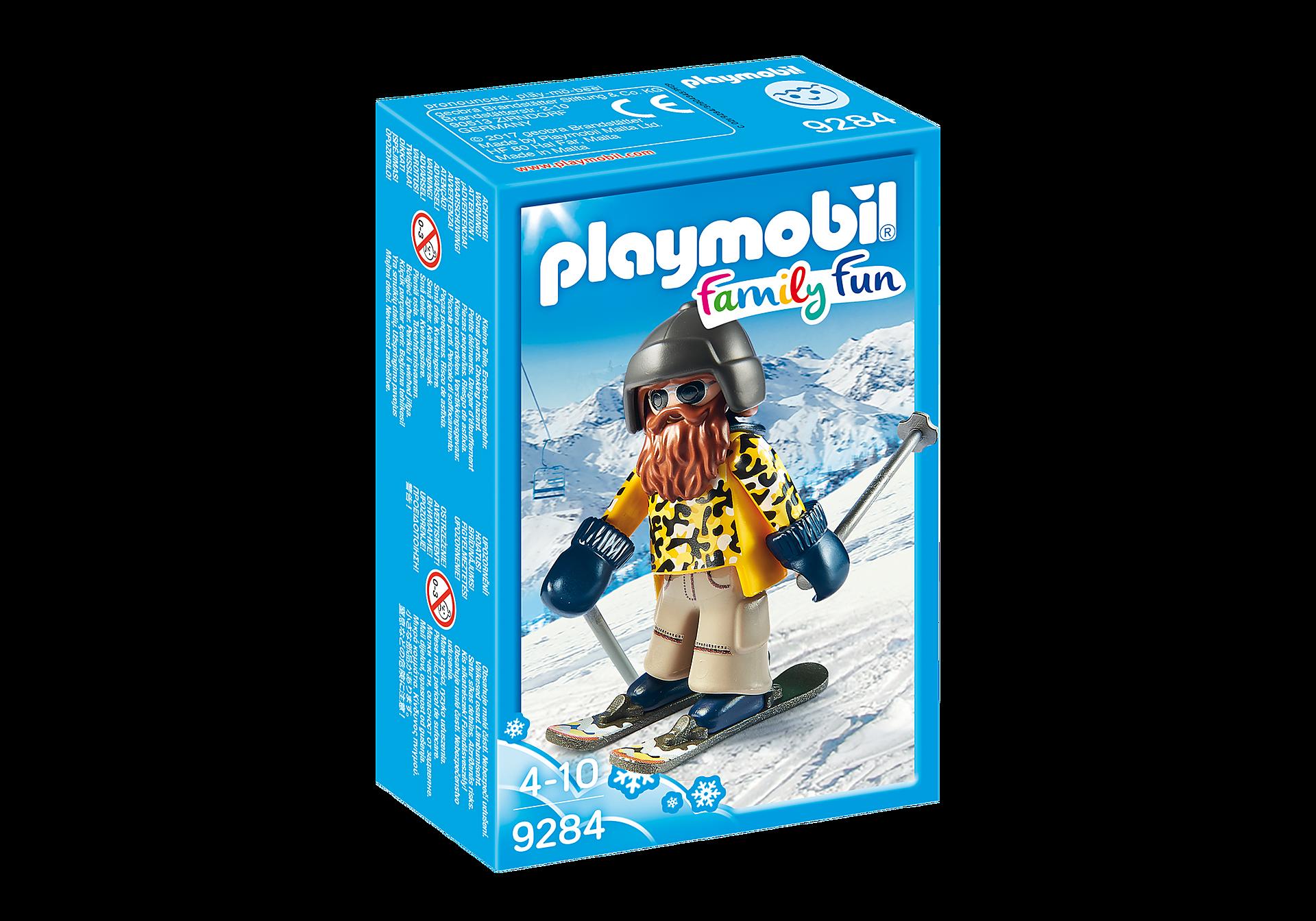 9284 Skieur avec Snowblades zoom image3
