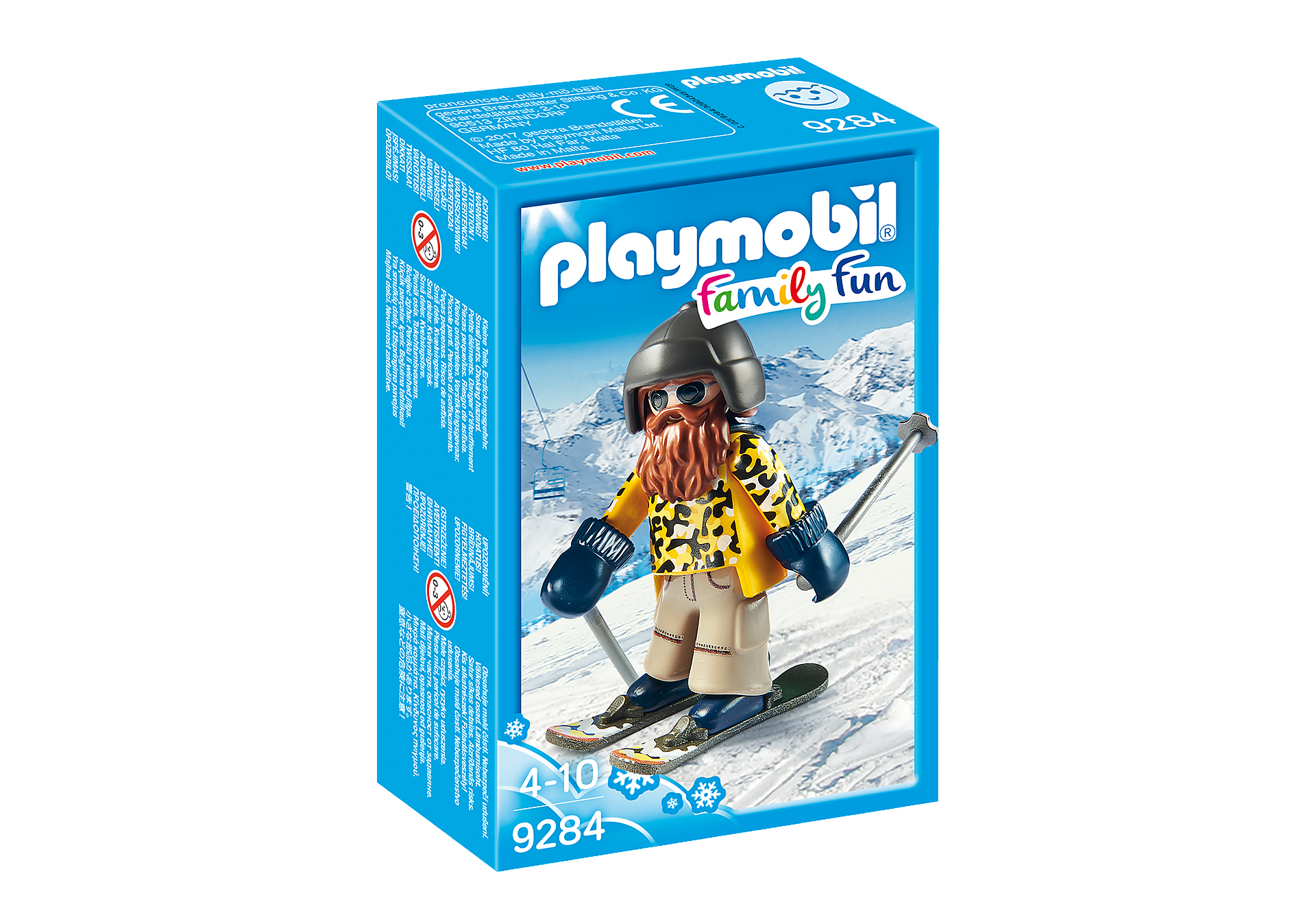 9284 Skifahrer mit Snowblades zoom image3