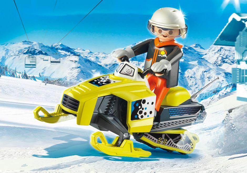 PLAYMOBIL Snowmobile Building Set Toys /& Games