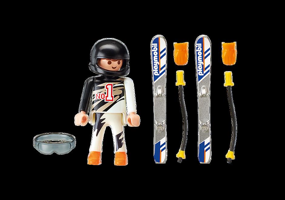 9288 Skier detail image 4