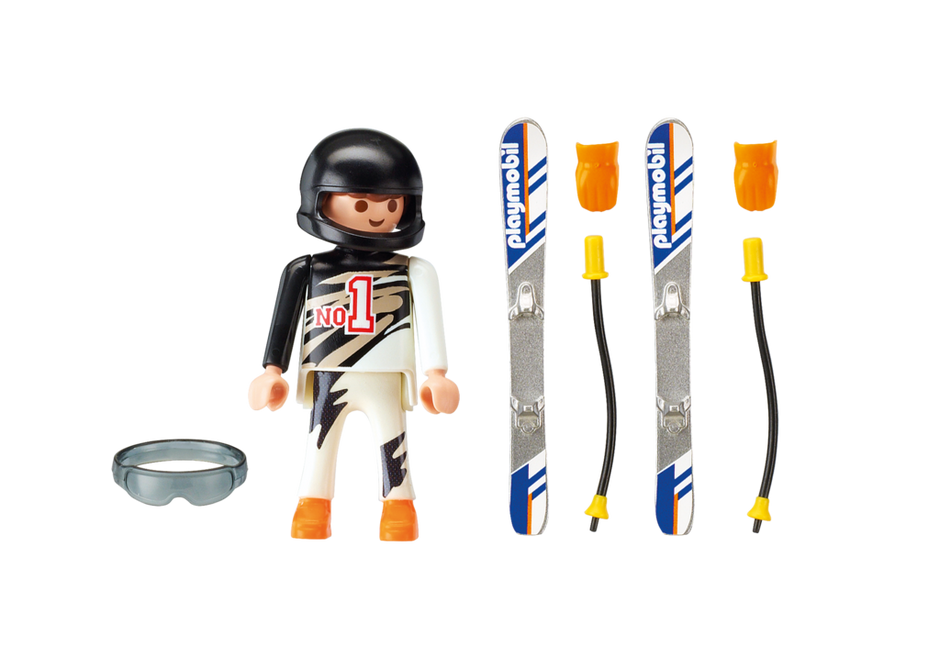 Skiër playmobil nederland