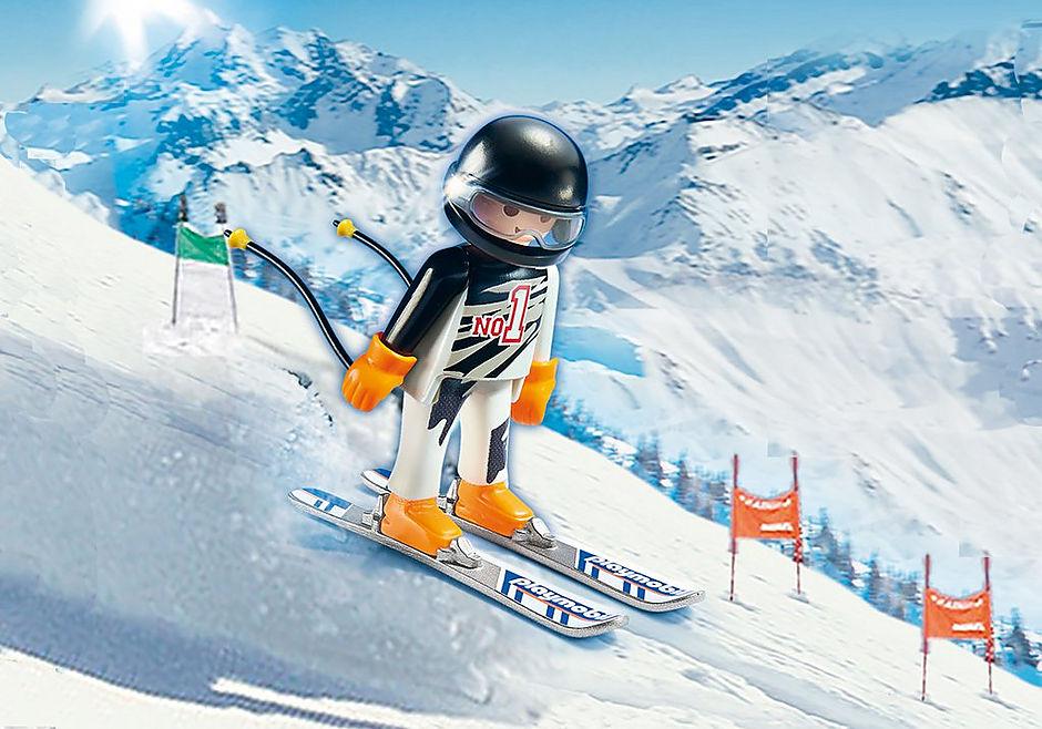 9288 Skier detail image 1