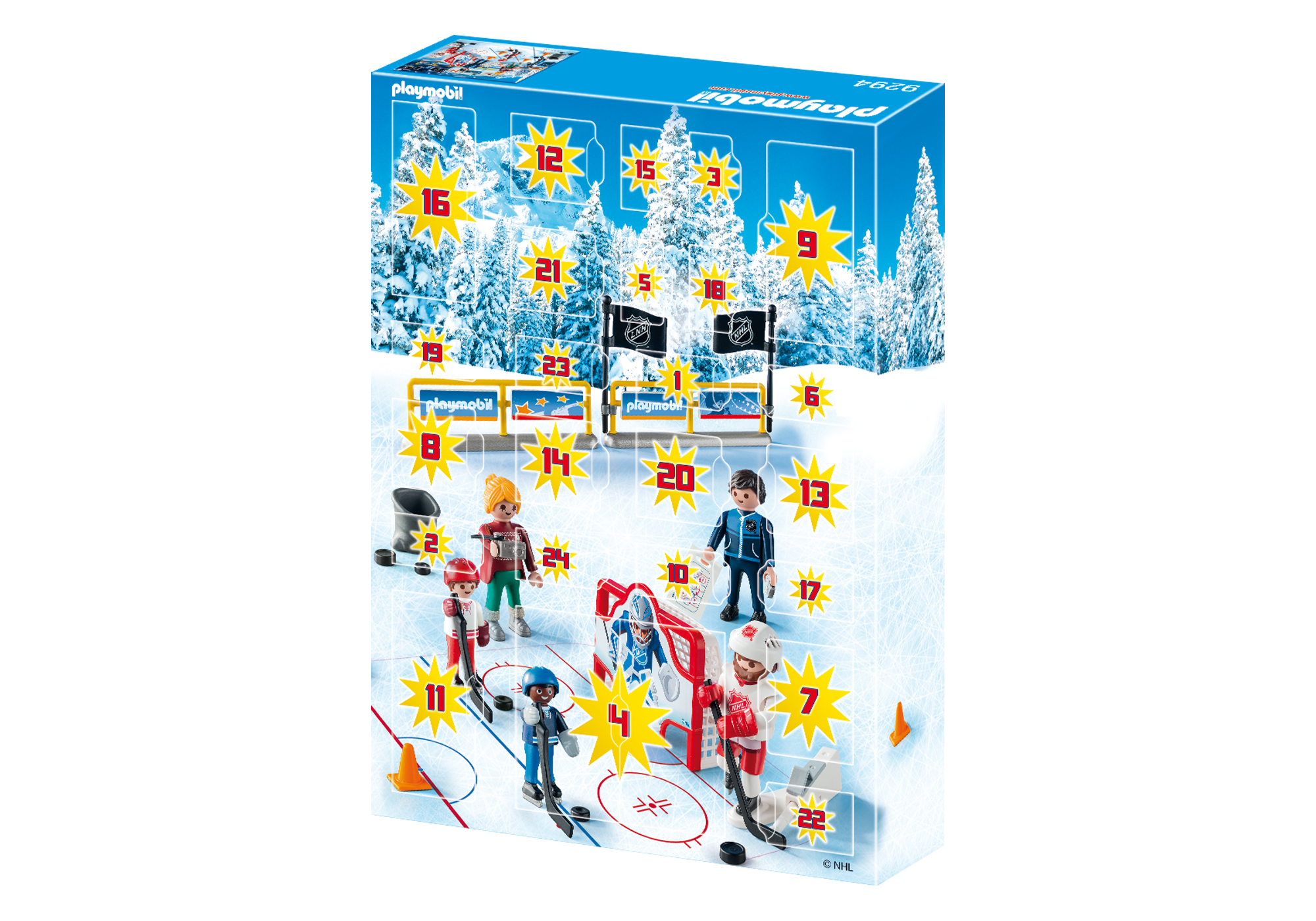 http://media.playmobil.com/i/playmobil/9294_product_extra2/NHL™ Advent Calendar - Road to the Cup