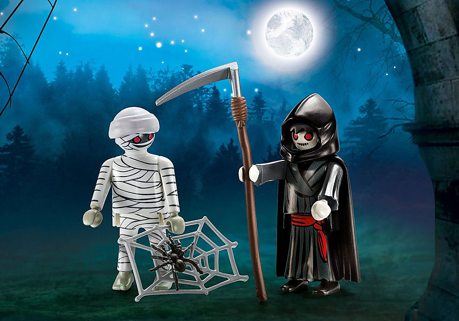 9308 Mummy & Grim Reaper detail image 1