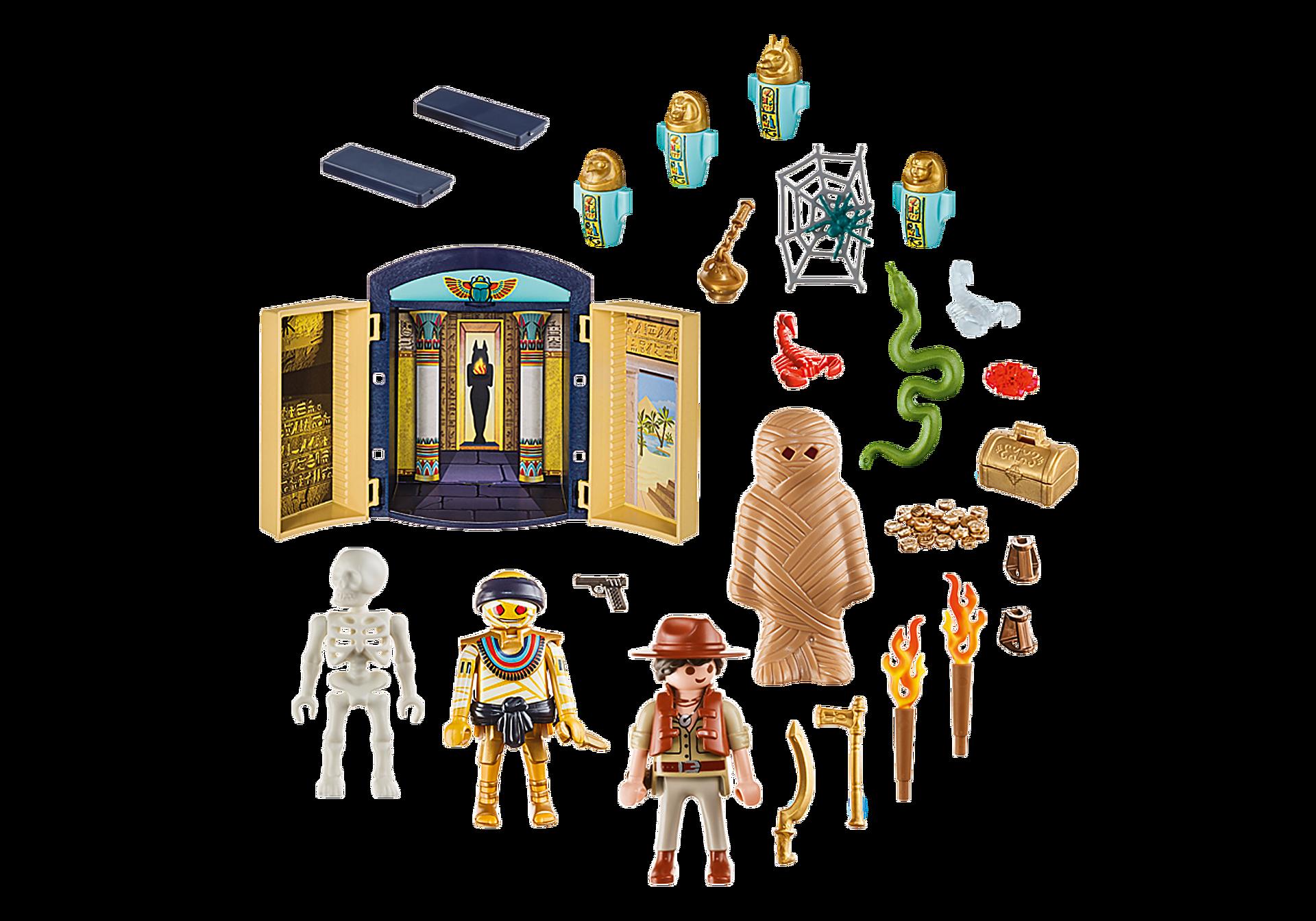 9311 Egyptian Tomb Play Box zoom image3