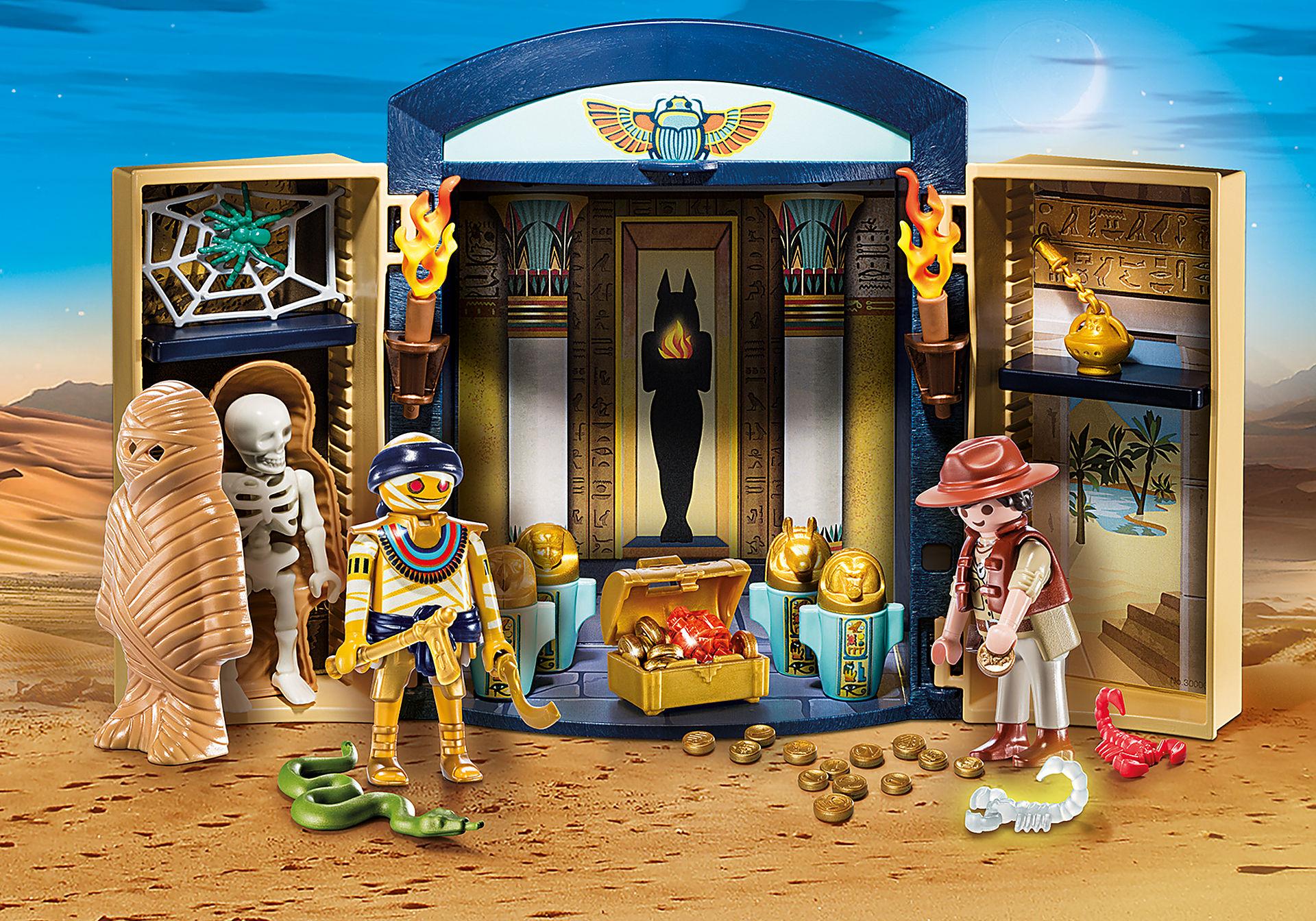 9311 Egyptian Tomb Play Box zoom image1