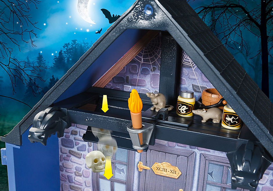 9312 Take Along Haunted House detail image 6