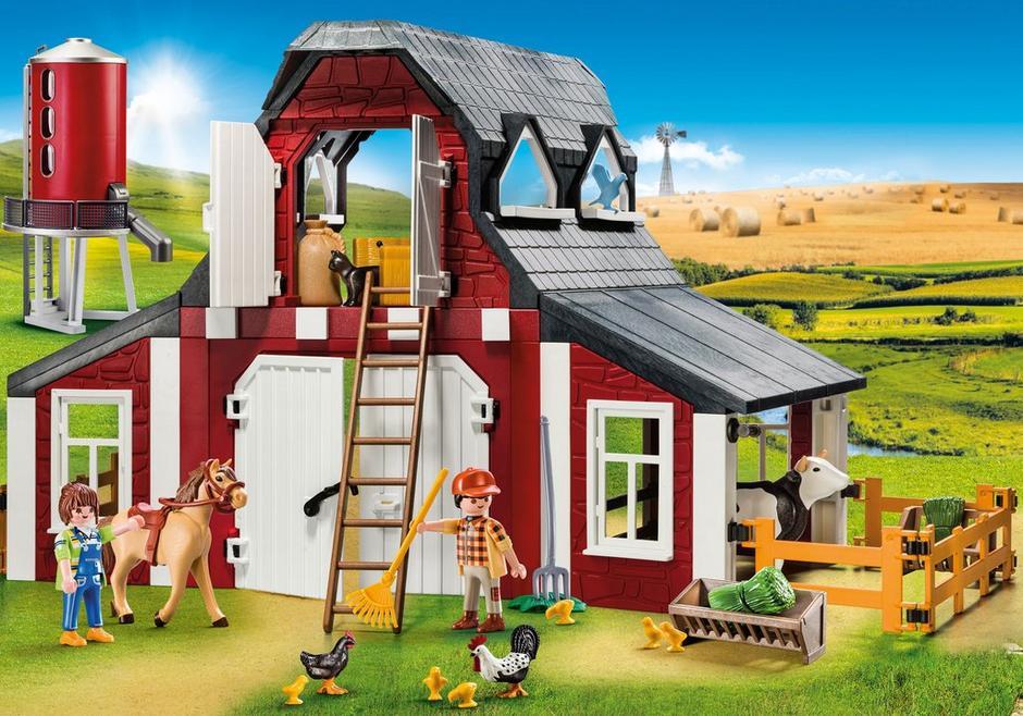Barn with silo 9315 playmobil canada - Playmobil 3230 casa de vacaciones ...