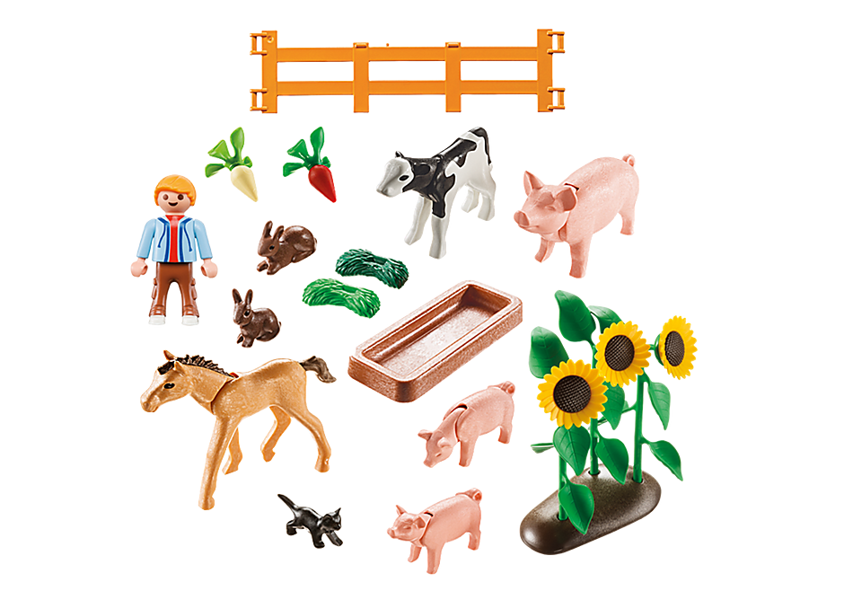 9316 Farm Animals detail image 3