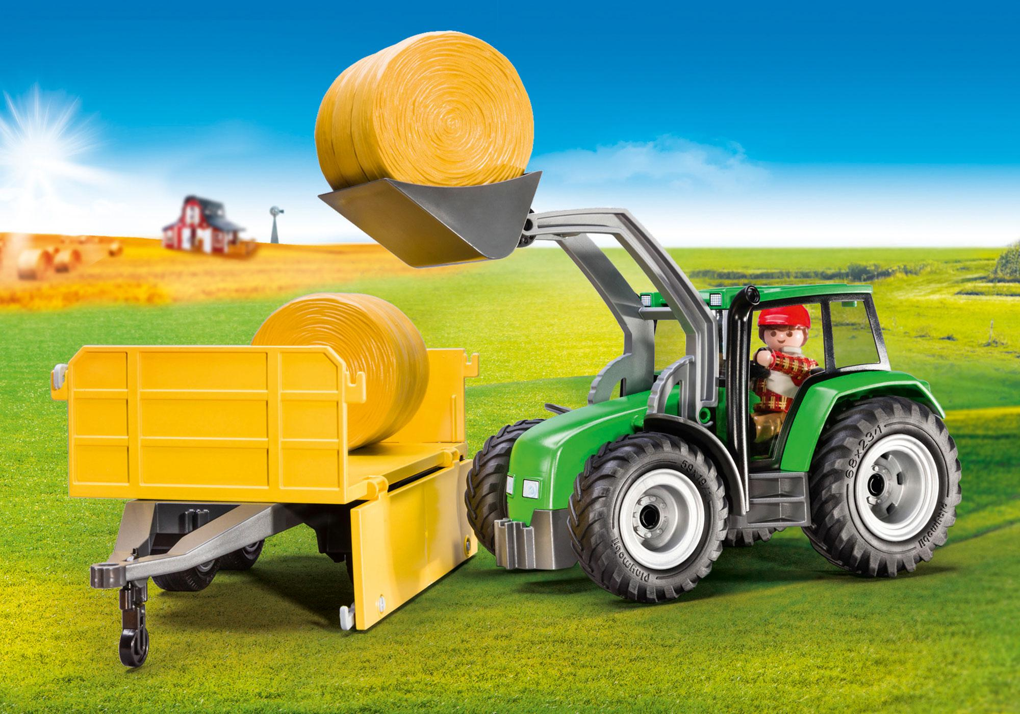 http://media.playmobil.com/i/playmobil/9317_product_extra1/Tractor with Trailer