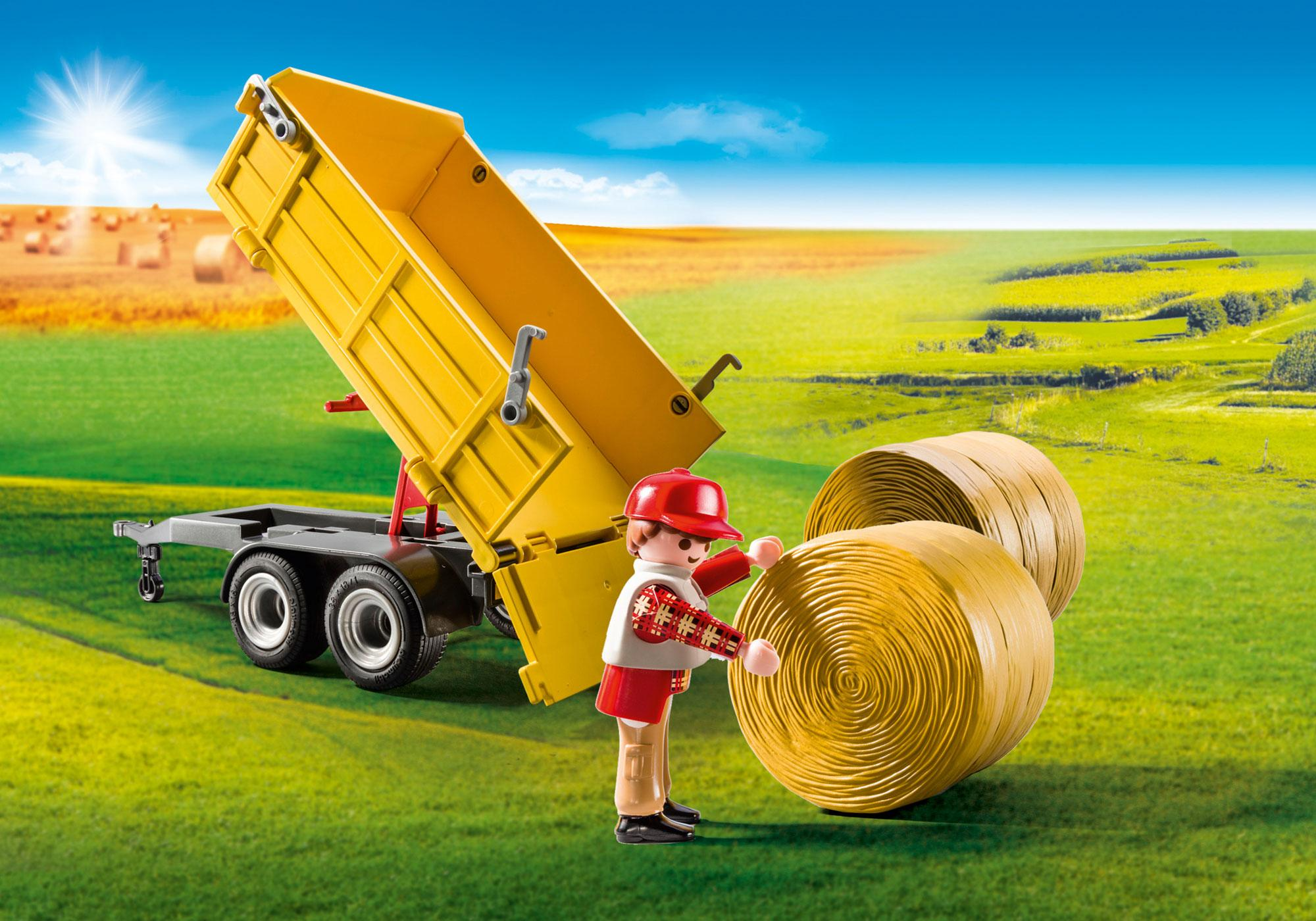http://media.playmobil.com/i/playmobil/9317_product_extra2/Tractor with Trailer