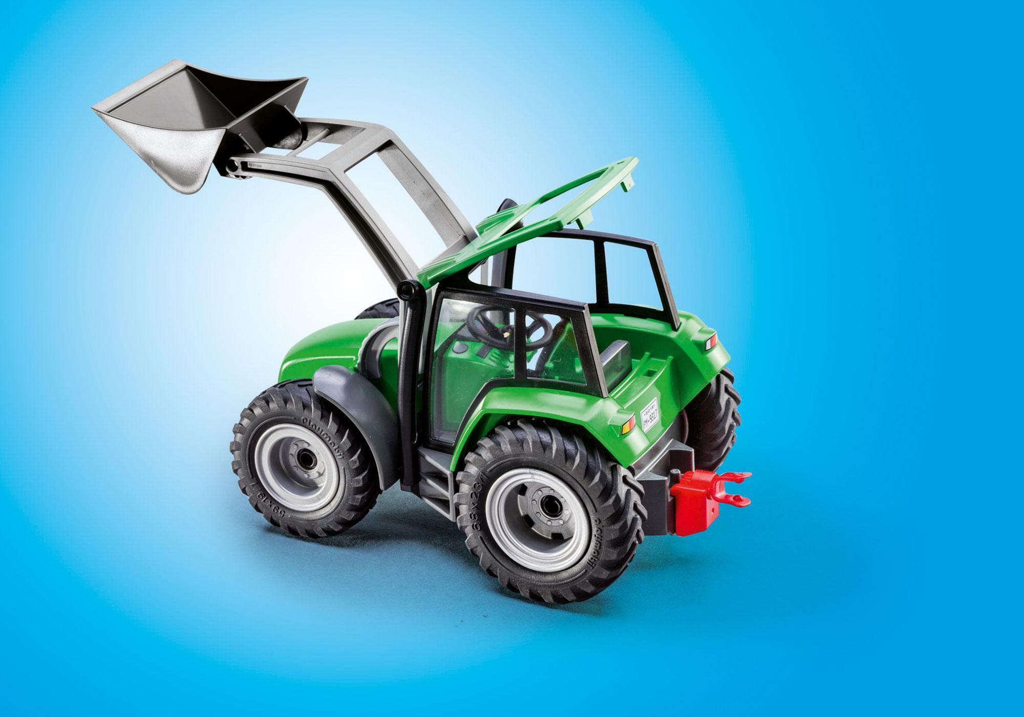 http://media.playmobil.com/i/playmobil/9317_product_extra3/Tractor with Trailer