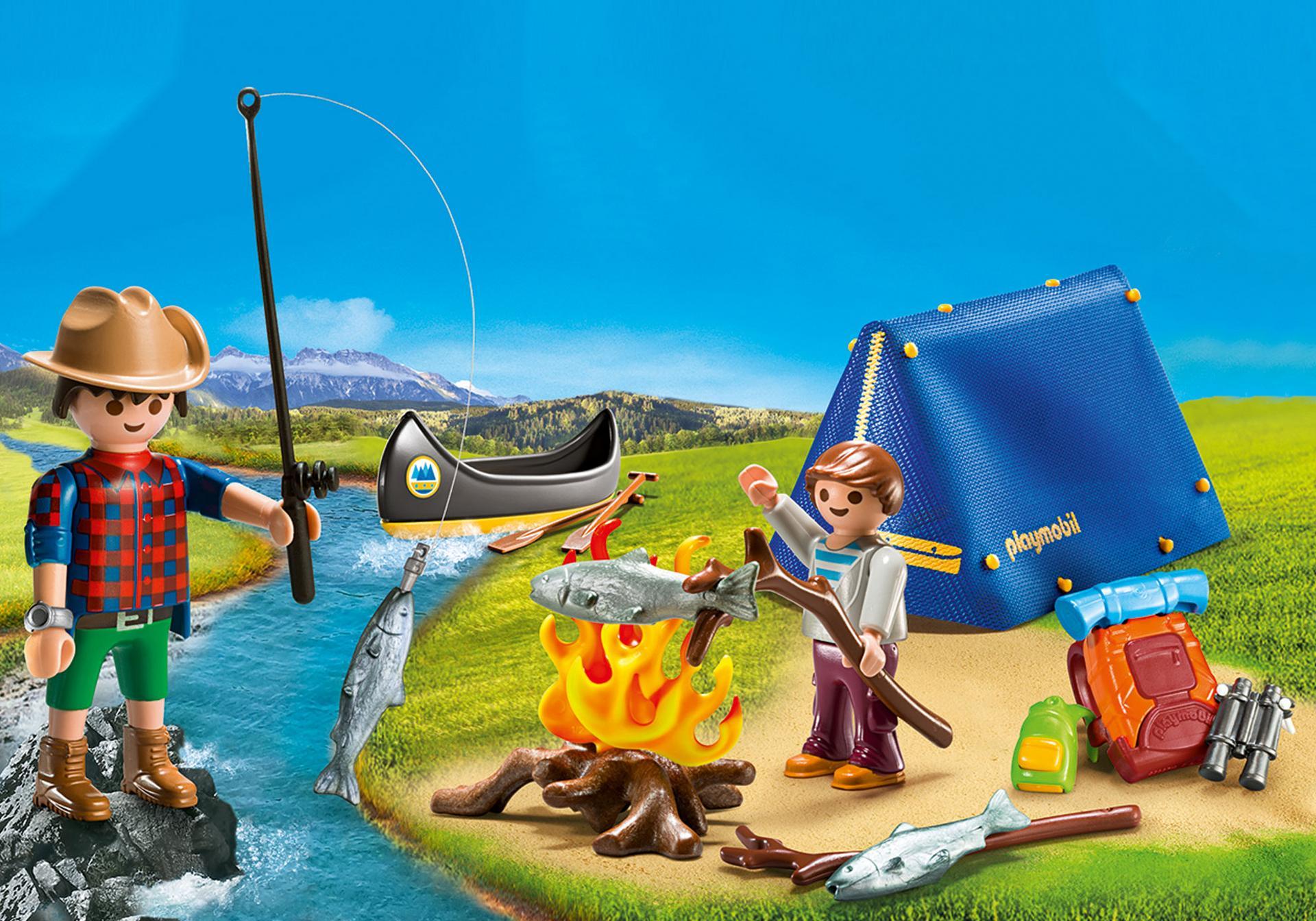 kart camping danmark Camping Adventure Carry Case   9323   PLAYMOBIL® USA kart camping danmark
