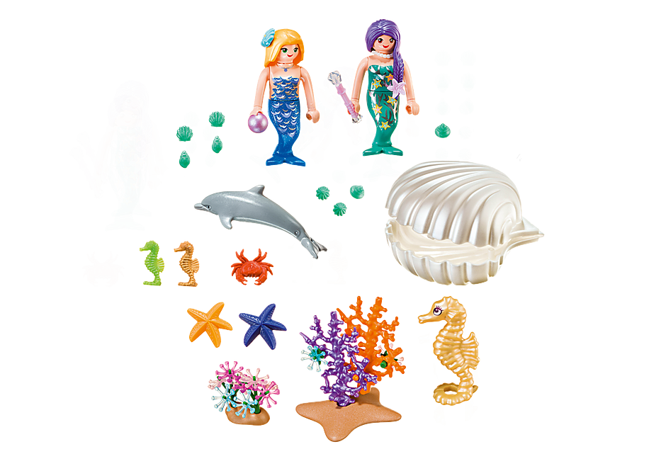 9324 Magical Mermaids Carry Case detail image 3