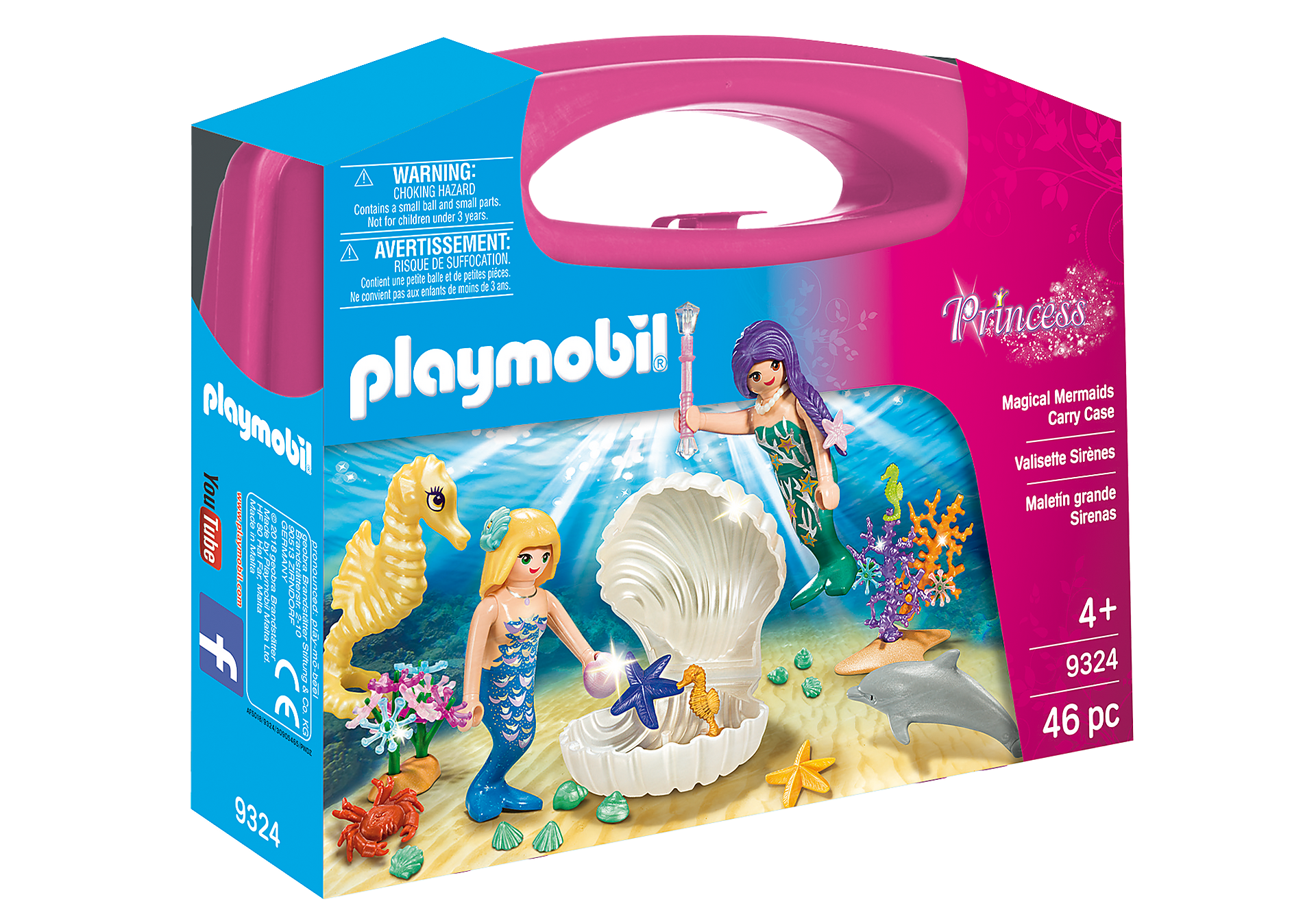 9324 Magical Mermaids Carry Case zoom image2