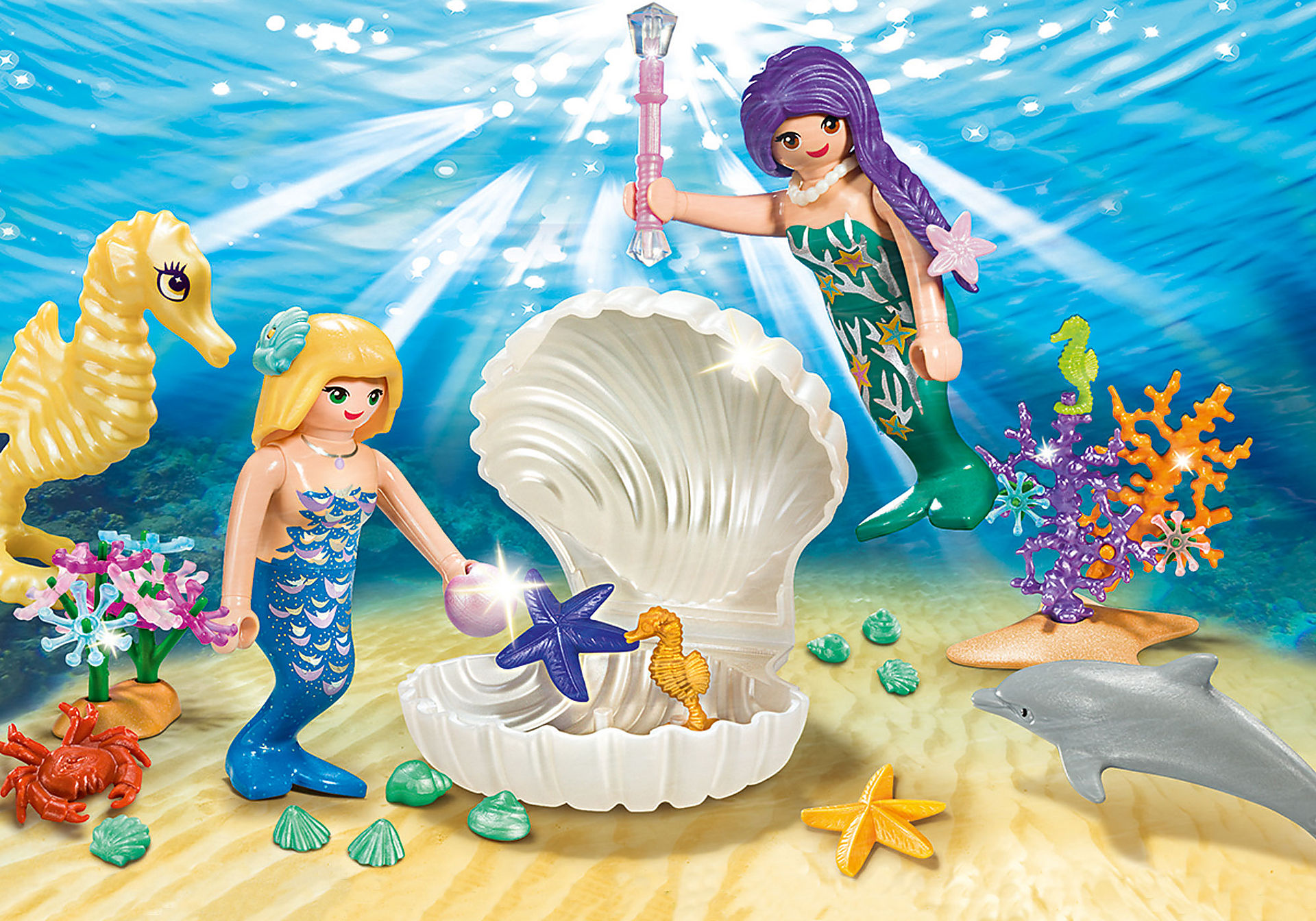 9324 Magical Mermaids Carry Case zoom image1