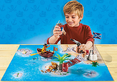 9328 Pirate Adventure Play Map
