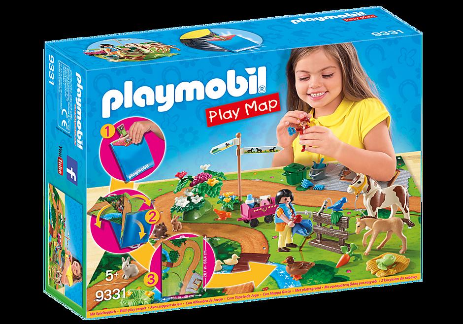 9331 Play Map Ponnyutflykt detail image 3