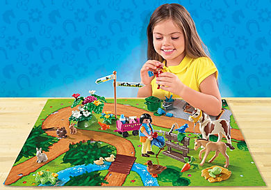 9331 Pony Walk Play Map