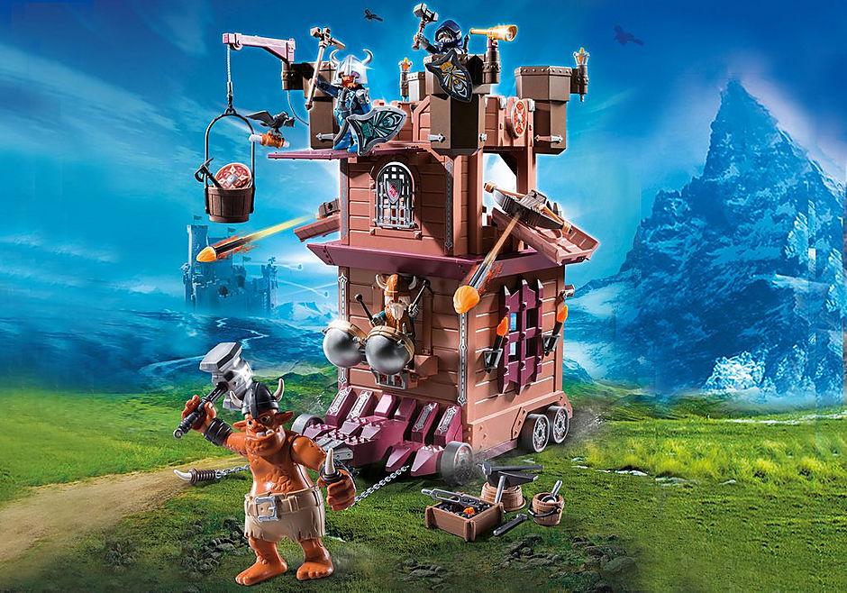 http://media.playmobil.com/i/playmobil/9340_product_detail/Dvärgfästning på hjul
