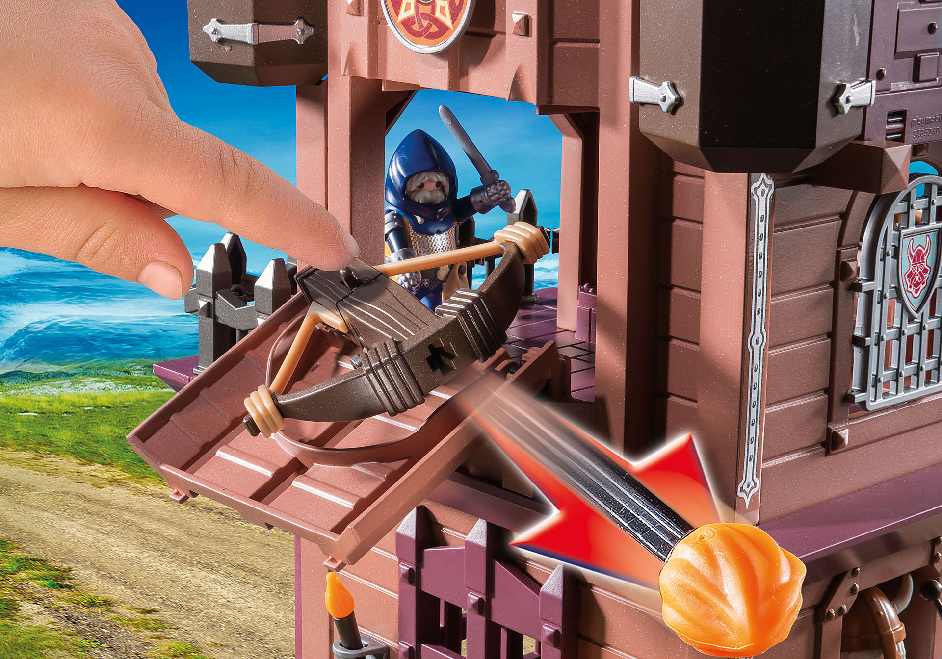 9340 Fortezza mobile dei Guerrieri zoom image7