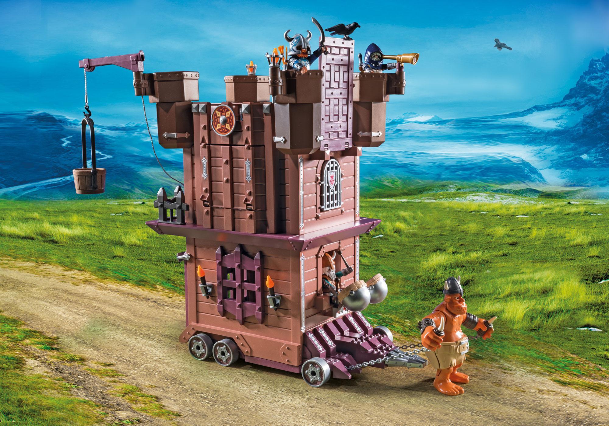 http://media.playmobil.com/i/playmobil/9340_product_extra3/Πολιορκητικός Πύργος Νάνων