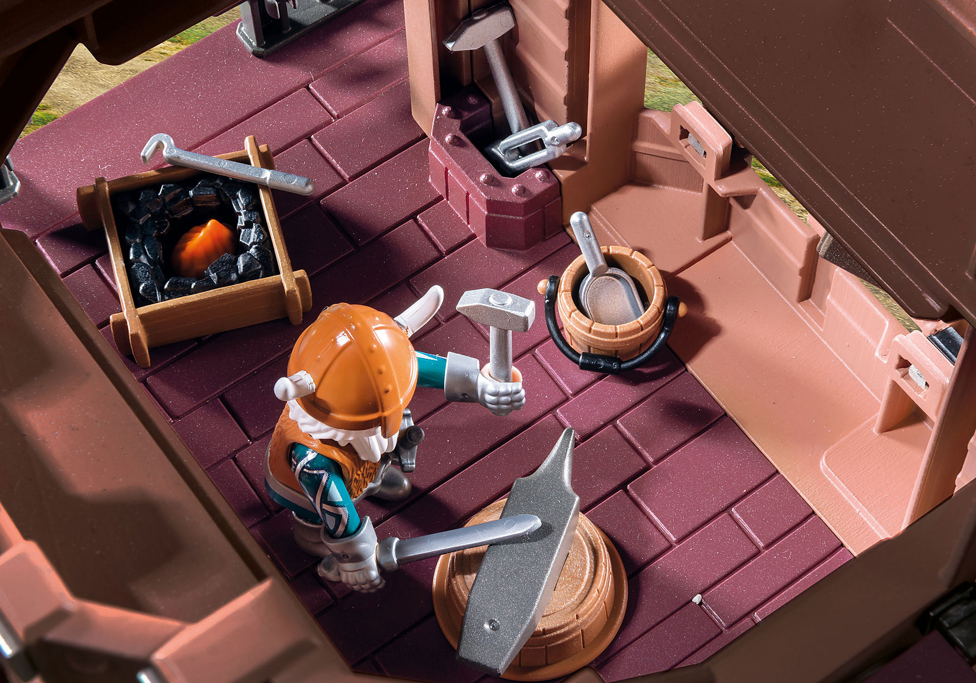 9340 Fortezza mobile dei Guerrieri zoom image9
