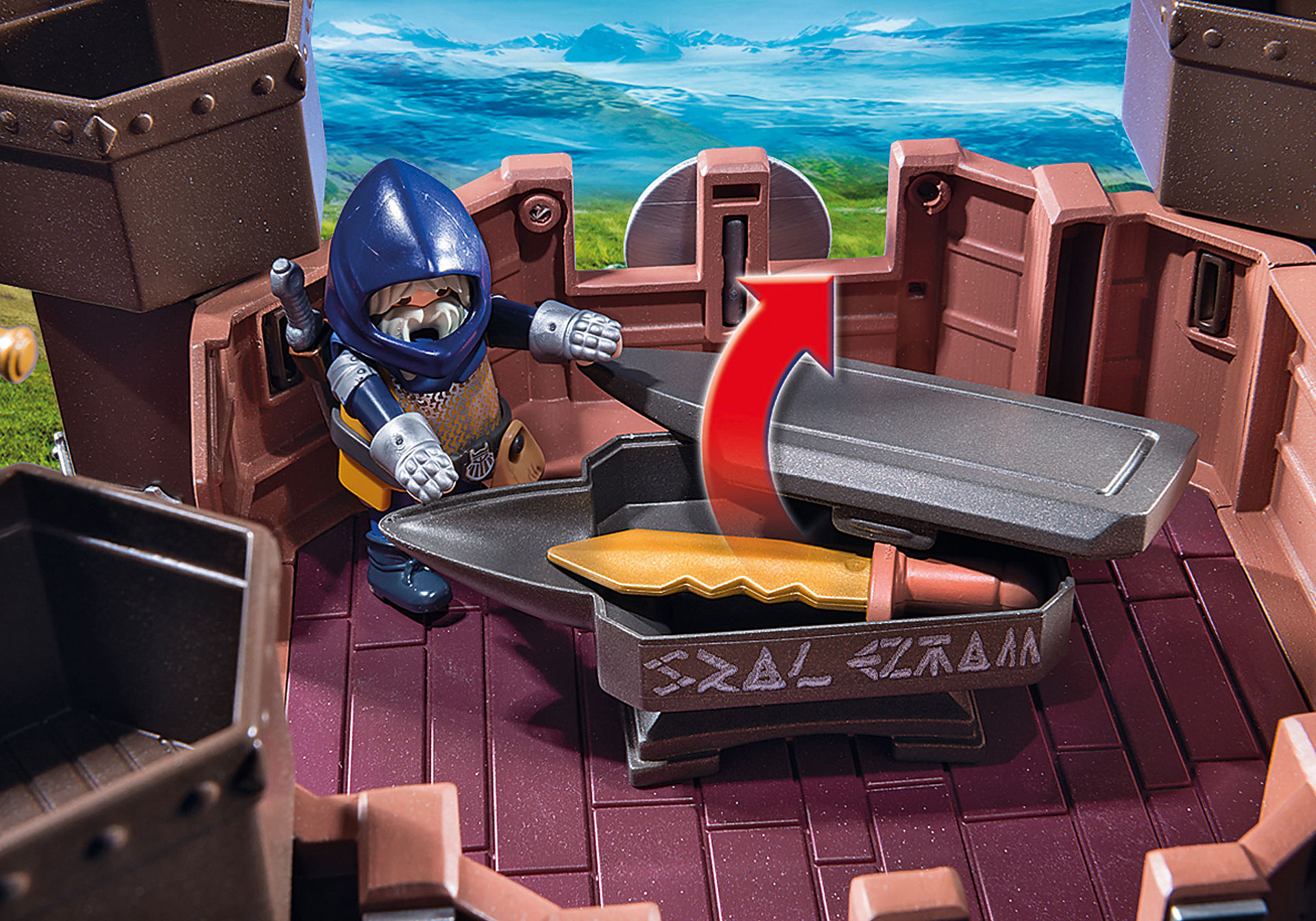 9340 Fortezza mobile dei Guerrieri zoom image10
