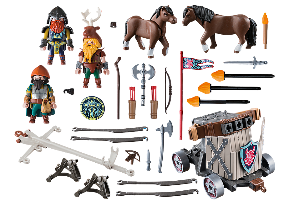 http://media.playmobil.com/i/playmobil/9341_product_box_back/Carruaje de Caballos con Ballesta Enanos