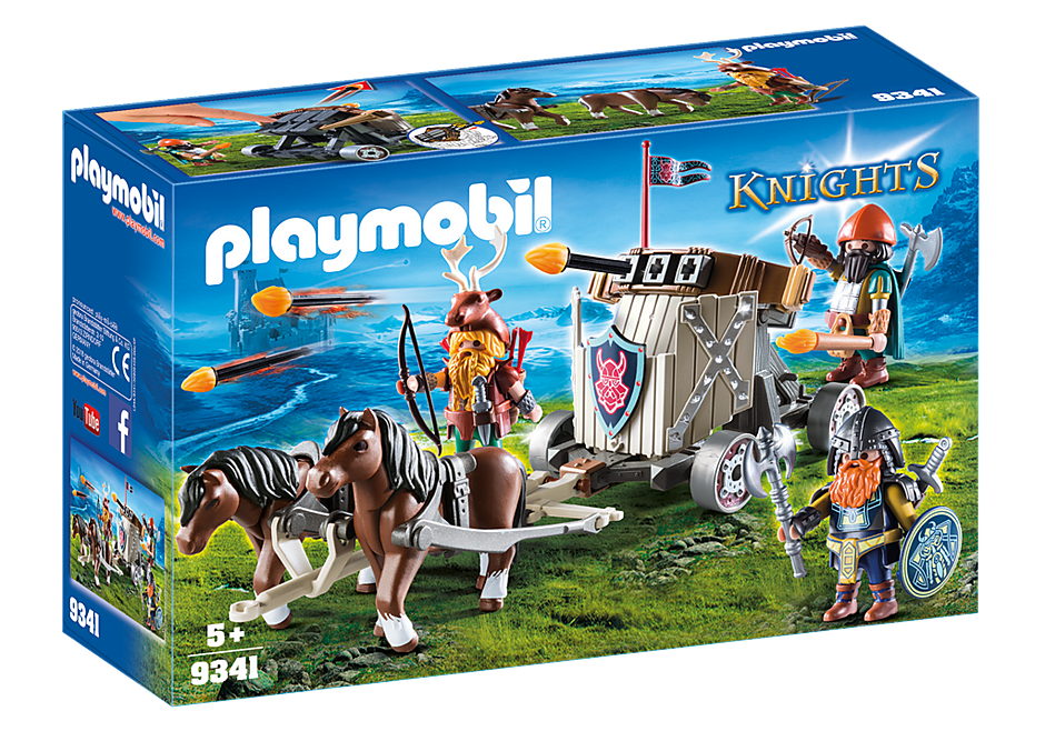 http://media.playmobil.com/i/playmobil/9341_product_box_front/Mobiele ballista met ponys en dwergen