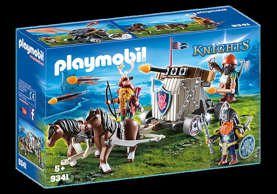 9341 Ponygespann mit Zwergenballiste detail image 3