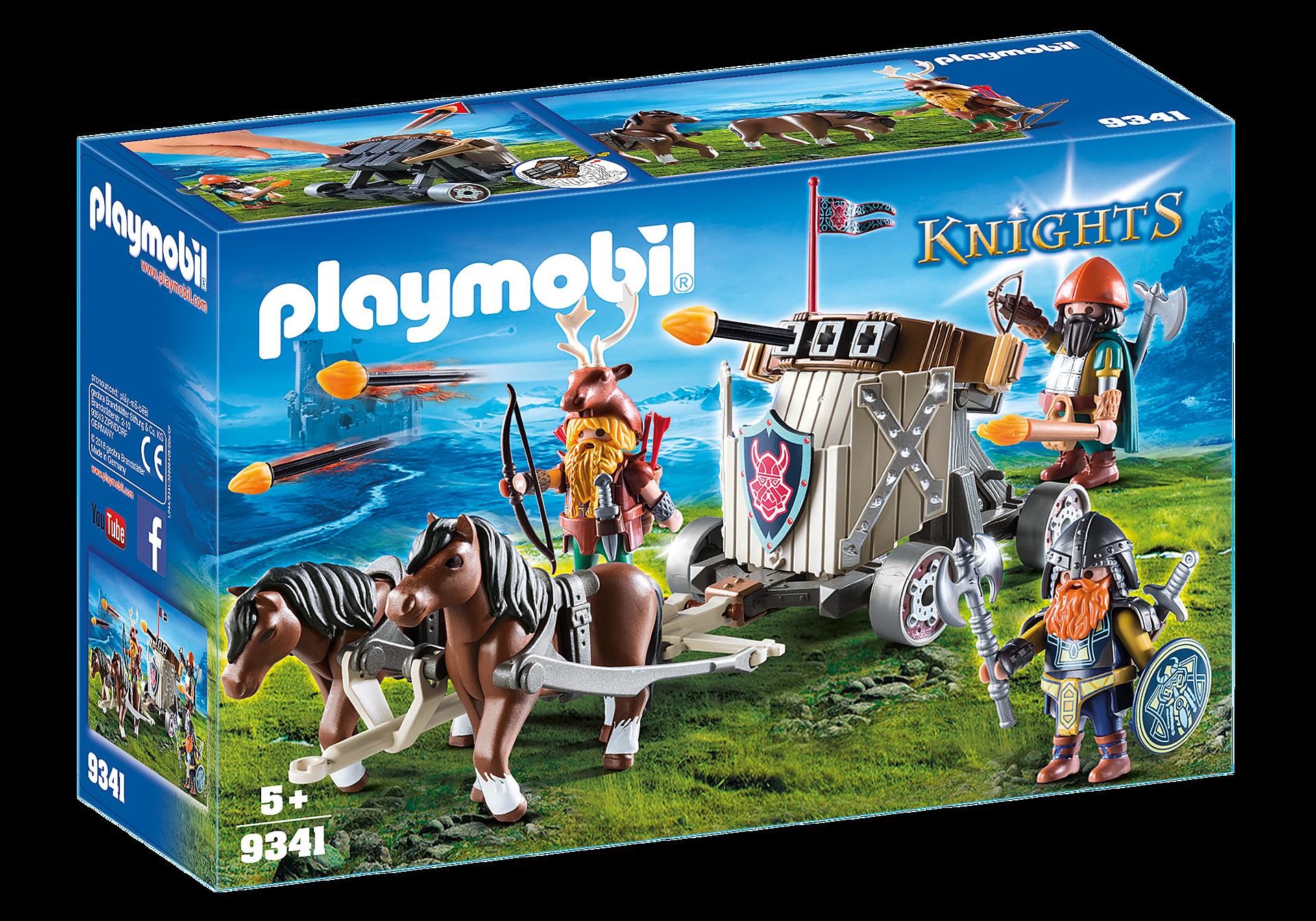 9341 Ponygespann mit Zwergenballiste zoom image3