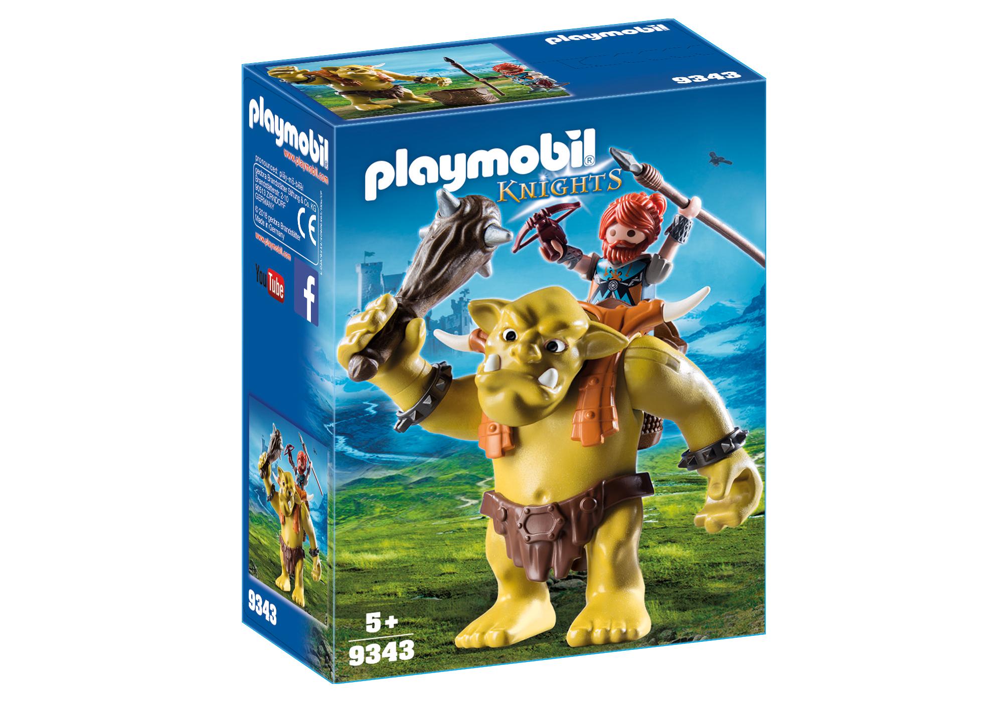 http://media.playmobil.com/i/playmobil/9343_product_box_front/Γιγαντιαίο Τρολ με Νάνο πολεμιστή