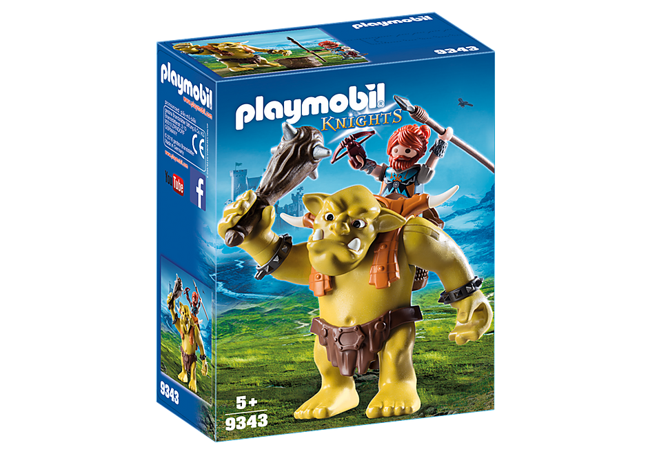 http://media.playmobil.com/i/playmobil/9343_product_box_front/Jättetroll med dvärgkämpe på ryggen