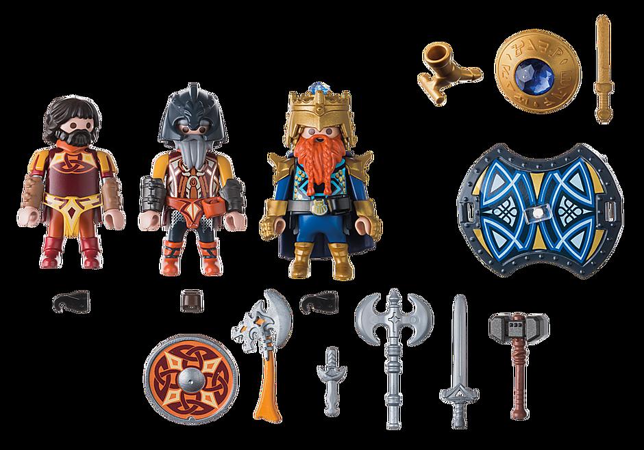 9344 Βασιλιάς των Νάνων με δύο φρουρούς detail image 4