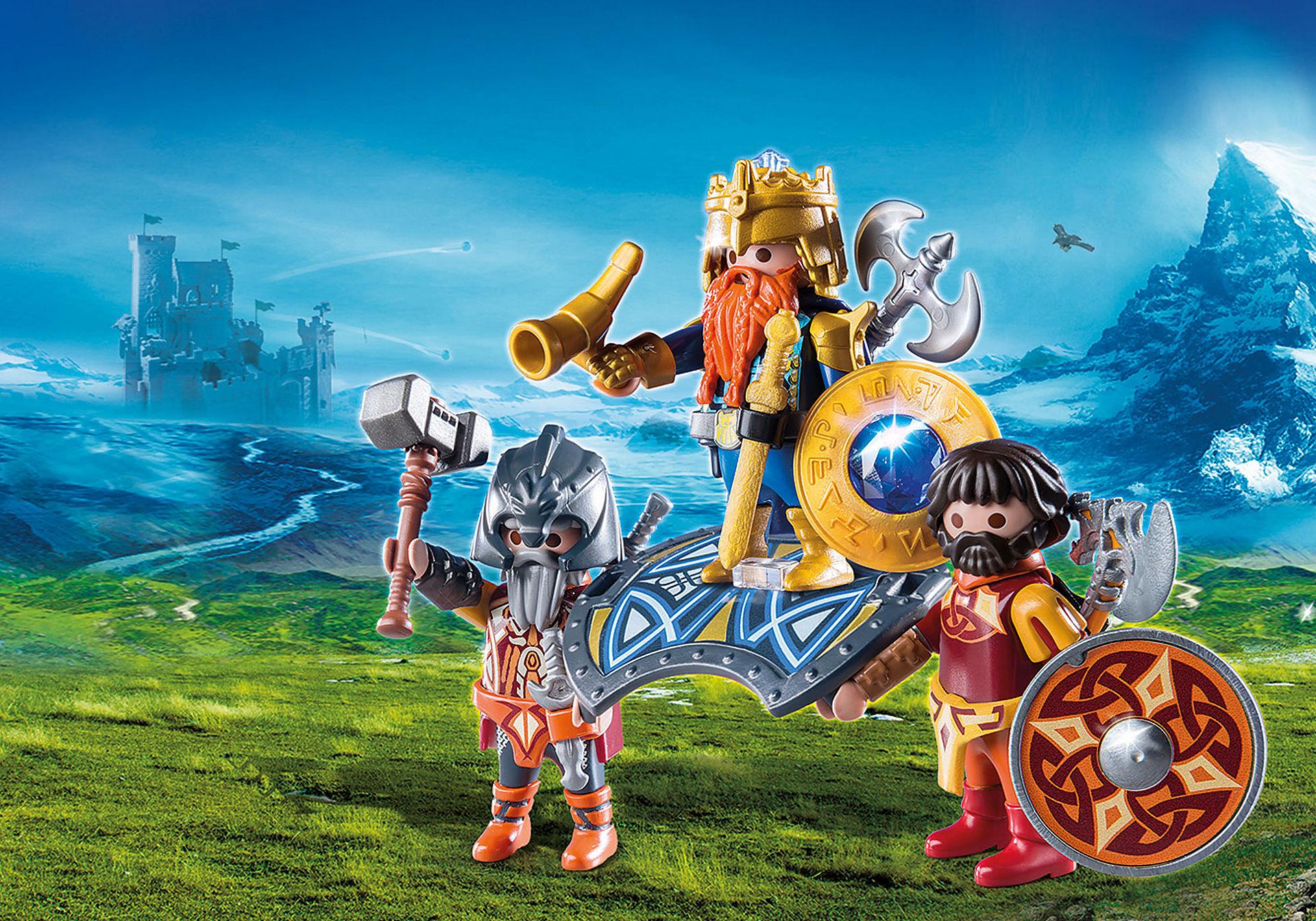 9344 Βασιλιάς των Νάνων με δύο φρουρούς zoom image1
