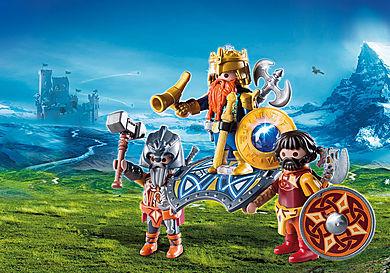 9344 Βασιλιάς των Νάνων με δύο φρουρούς