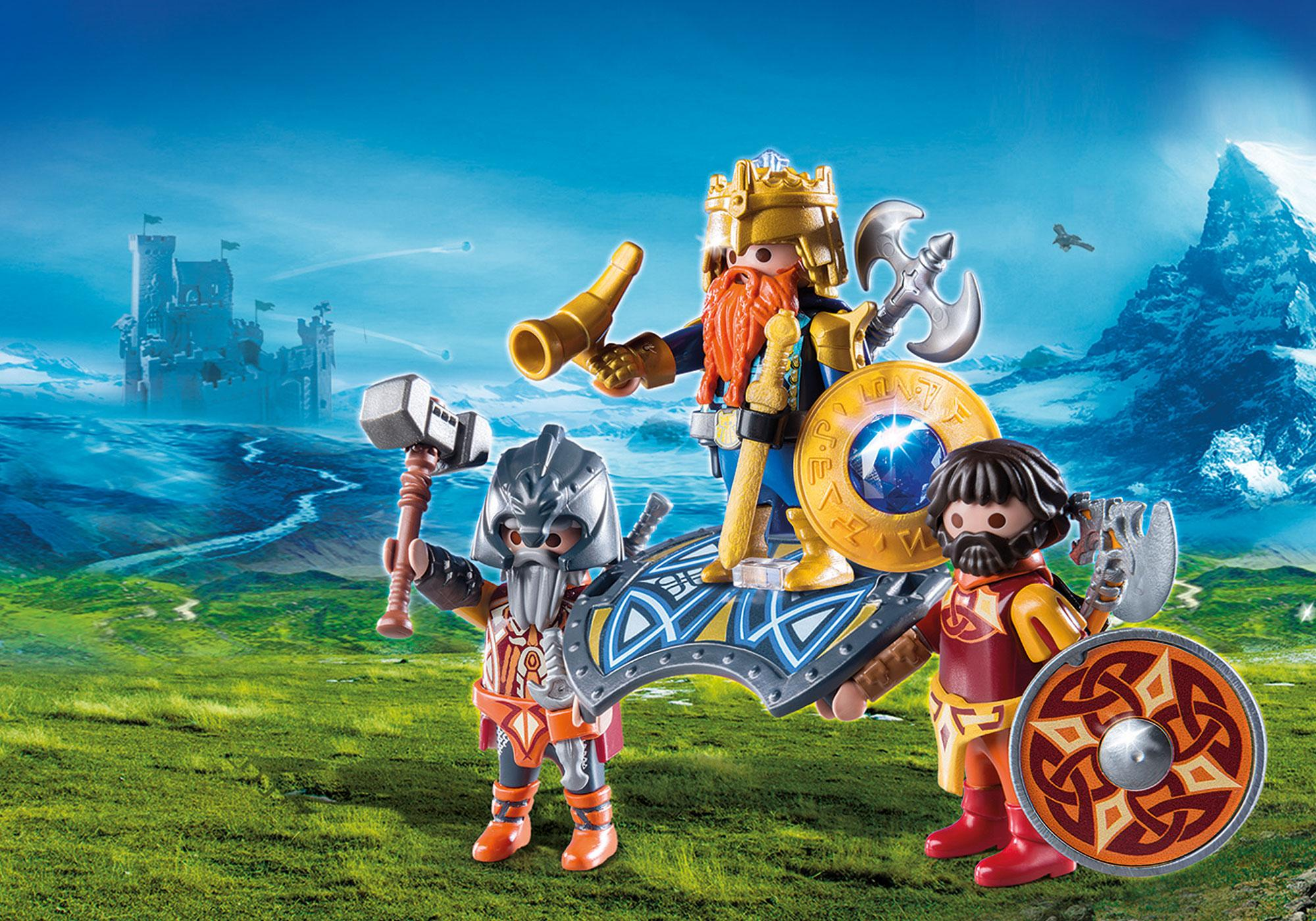 http://media.playmobil.com/i/playmobil/9344_product_detail/Βασιλιάς των Νάνων με δύο φρουρούς