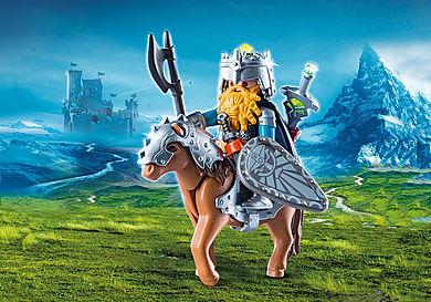 9345 Zwerg und Pony mit Rüstung