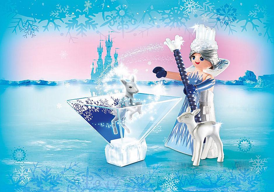 9350 Πριγκίπισσα του παγετού με ελαφάκι detail image 1