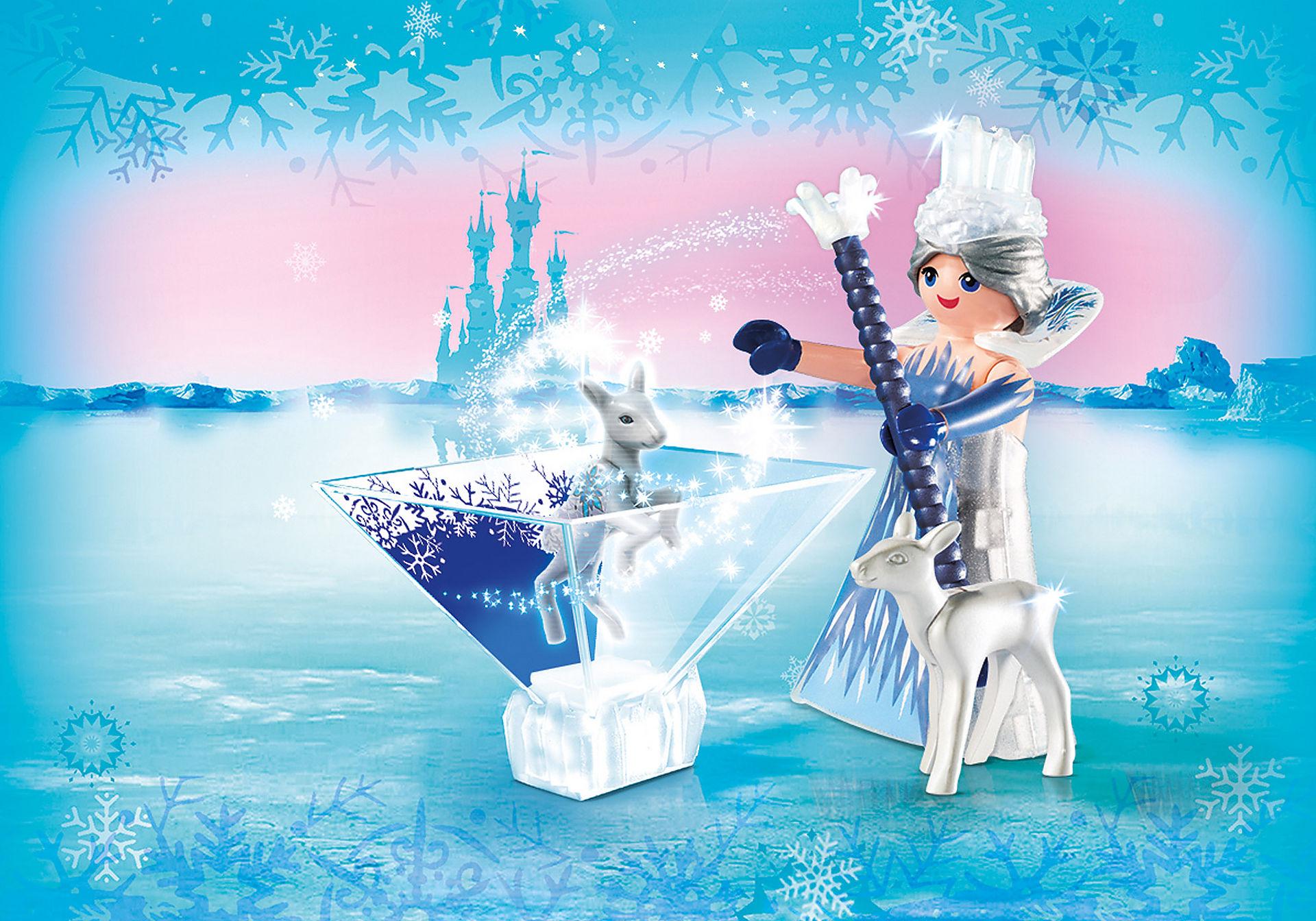 9350 Πριγκίπισσα του παγετού με ελαφάκι zoom image1