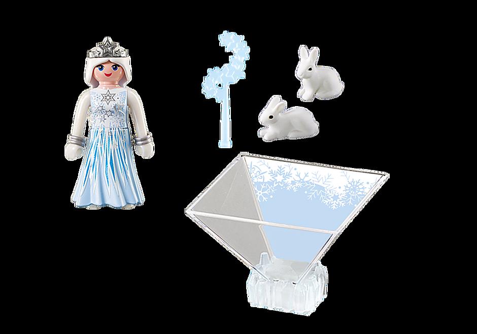 9352 Πριγκίπισσα του χειμώνα με λαγουδάκια detail image 4