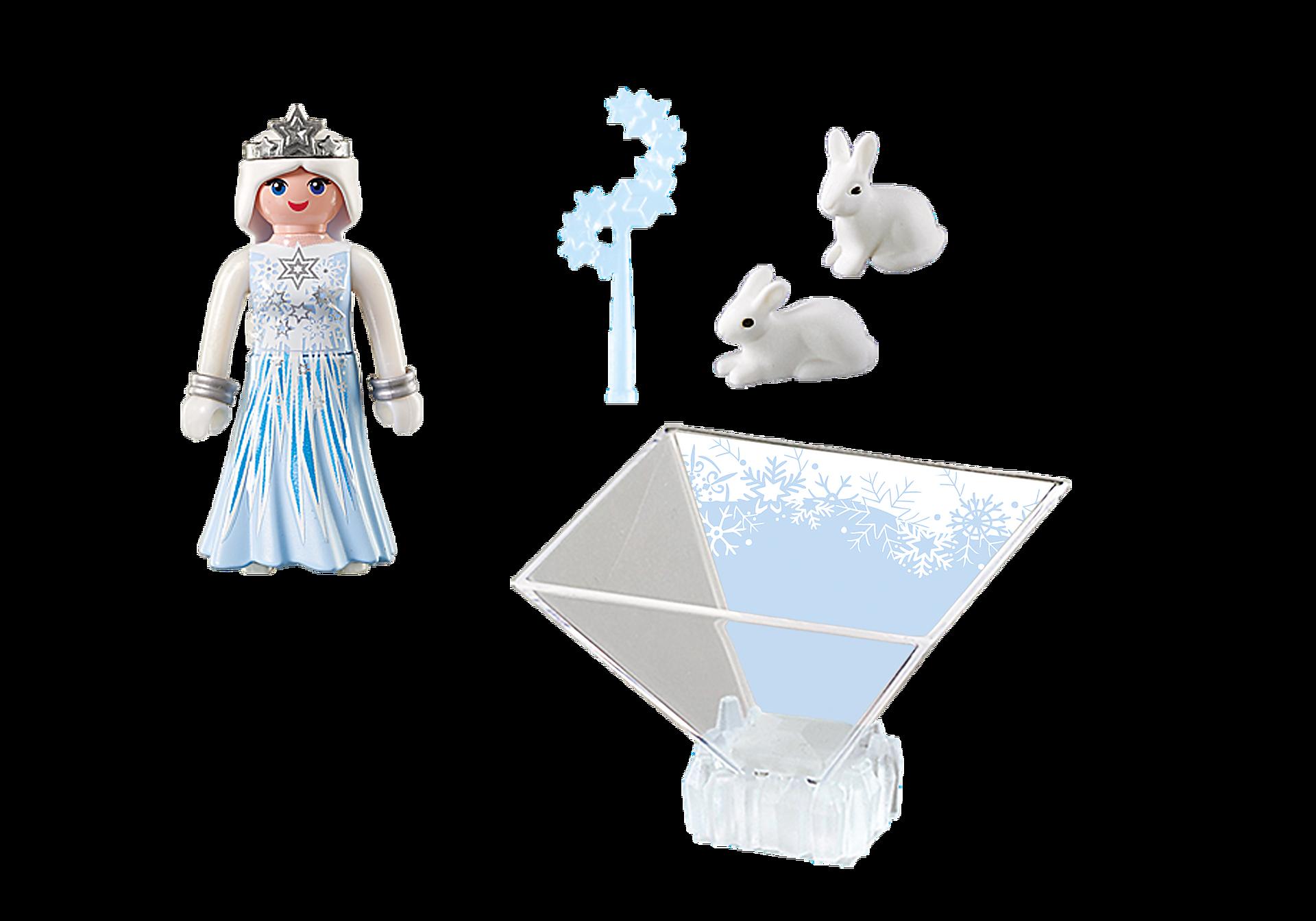 9352 Πριγκίπισσα του χειμώνα με λαγουδάκια zoom image4