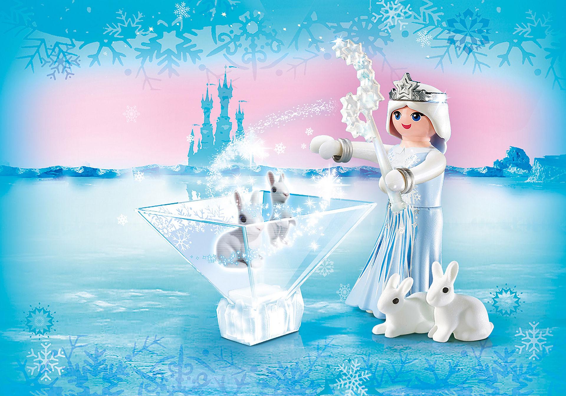 9352 Πριγκίπισσα του χειμώνα με λαγουδάκια zoom image1