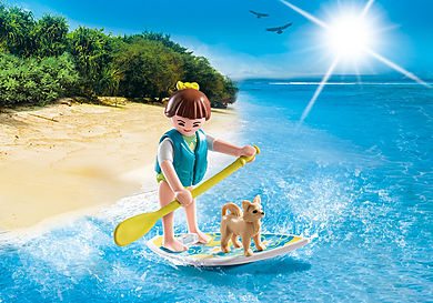 9354 FIGURINA SURFER SI CATEL