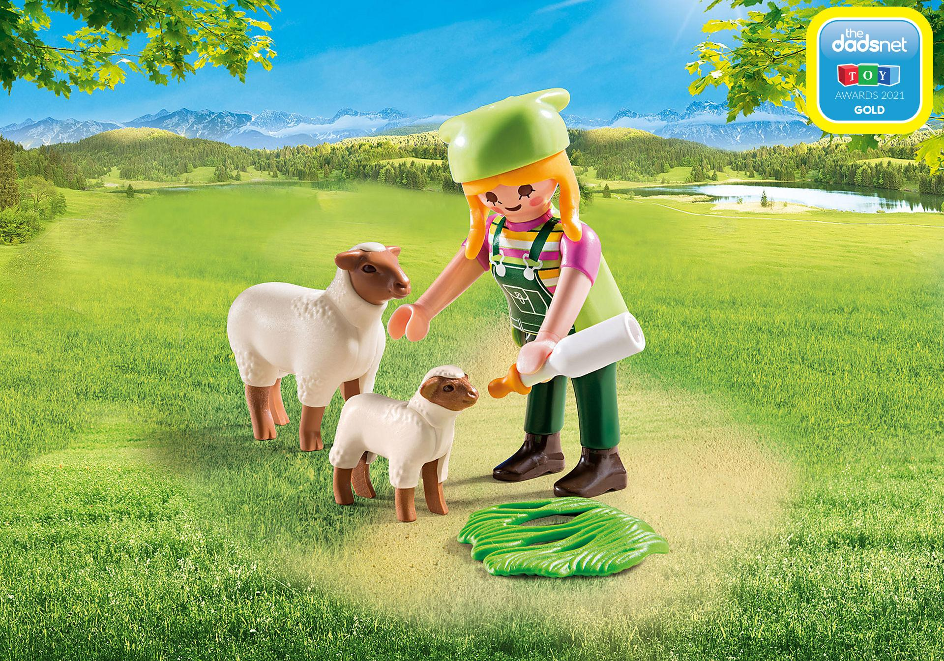 9356_product_detail/Farmer with Sheep